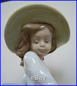 12 Lladro Figurine #6784 PUPPY PARADE, Girl Walking Dogs & Puppies, A. Ramos