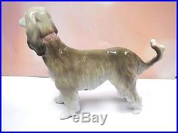 Afghan Hound Puppy Dog Porcelain 2015 By Lladro #9143