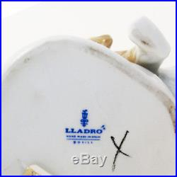 BOY & SPANIEL DOG 8 by Lladro Porcelain made in Spain #4522 NEW NEVER SOLD