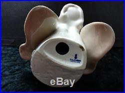 C1990s Retired Lladro Figure Beagle (Dog) Head