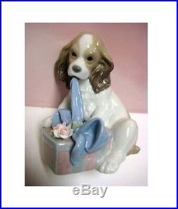 Can't Wait Dog Figurine Utopia By Lladro #8312