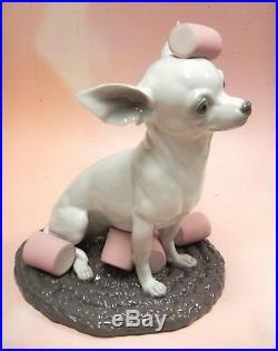 Chihuahua With Marshmallows Dog Porcelain Figurine By Lladro 2015 9191