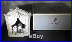 FANTASTIC LLADRO #6502 PLEASE COME HOME 2 PUPPY DOGS EXCELLENT with O. BOX