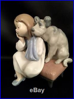 FREE Fast ShippingLLadro We Can't Play Girl/Dog (5706 Mint Condition)