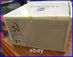 GG55 Vintage Lladro 5770 Out For A Spin Boy withDog in Toy car in Box