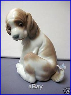 Gentle Surprise Dog By Lladro #6210