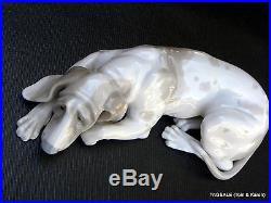 LLADRO #1067 figurine OLD DOG Hand Made in Spain