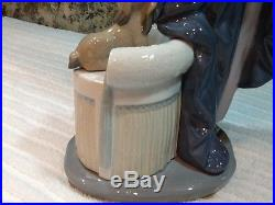 Lladro # 5174 Couplet Lady With Her Dog 1920's Flapper Mint