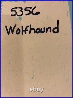 LLADRO 5356 Wolfhound Mint! Blue Lladro Box! Rare! Retired 27 years ago! L@@K