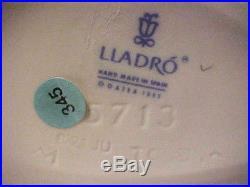 Lladro 5710 B-21 Ju Jc Sticker 345 Daisa 198 Christmas Snowman, Children, Dog