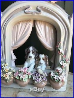 LLADRO #6520 Please Come Home! Dogs