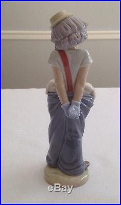 LLADRO #7600 LITTLE PALS CLOWN WITH DOGS 1985 COLLECTORS SOCIETY mint condition