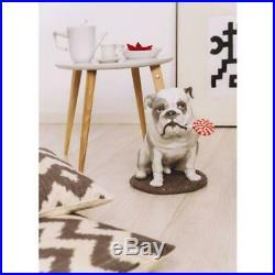 LLADRO 9234 Bulldog with Lollipop Dog Figurine 01009234
