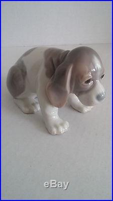 Lladro Collection 5 Rare, Retired Dog Figurines