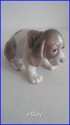 Lladro Collection 5 Rare, Retired Dog Figurines