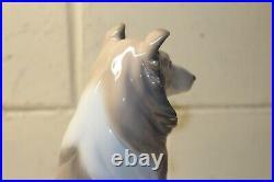 LLADRO Collie Dog Figurine, #6455, 1997