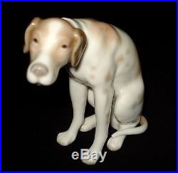 Lladro Moping Dog Rare Porcelain Figurine # 4902 Retired 1979 Spain Mint