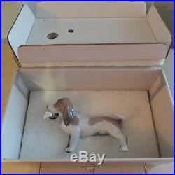 LLADRO MORNING DELIVERY # 6398 DOG L@@K! MINT CONDITION with BOX FAST SHIPPING