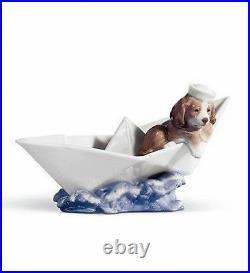 LLADRO Porcelain LITTLE STOWAWAY (01006642)