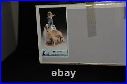 LLADRO Vintage Retired 1533 Not So Fast Girl With Dog Daisa 1987 MINT Condit