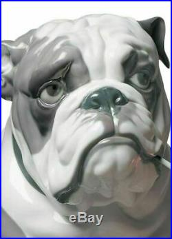 Lladro 01009234 Bulldog with Lollipop Dog Figurine 01009234