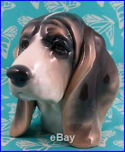 Lladro # 1149 DOG'S HEAD MINT BUY 1 GET 1 50 % OFF