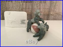 Lladro 1258 Figurine PLAYFUL DOGS Poodles with Ball