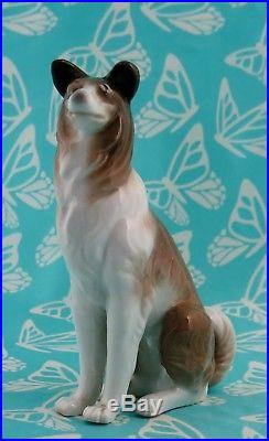 Lladro # 1316 DOG Collie Mint BUY1 GET1 50% OFF