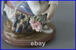 Lladro 1524 Valencian Bouquet 13cm Figure VGC