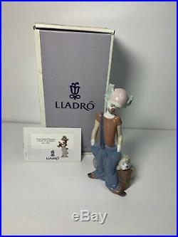 Lladro 1996 Event Figurine DESTINATION BIG TOP #6245 CLOWN WithDOG RETIRED NEW