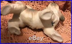 Lladro 4642 Dog Retired! Mint Condition! No Box! Matte Finish! L@@K