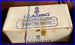 Lladro 4749 Small Dog RETIRED! Mint Condition! Original Blue Box! L@@K