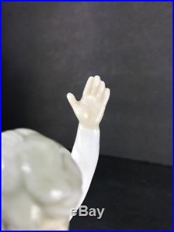 Lladro 4867 Children See Saw Puppy Dog Glazed Porcelain Figurine Retired 9