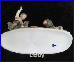 Lladro 4867 Seesaw Porcelain Figurine Retired Girl & Boy Dog D-15a @daisa Spain