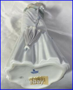 Lladro #4893 A WALK WITH THE DOG 15 TALL