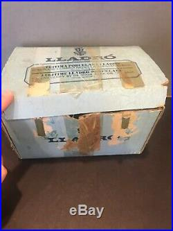 Lladro #4917 Dog & Butterfly 1975 Retired With ORIGINAL BOX Porcelain