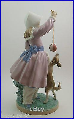 Lladro # 5078 GIRL, DOG AND BALL MINT CONDITION Buy 1 Get 1 50% Off