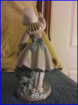 Lladro, 5078, Teasing The Dog Figurine, Mint Condition! Free Shipping