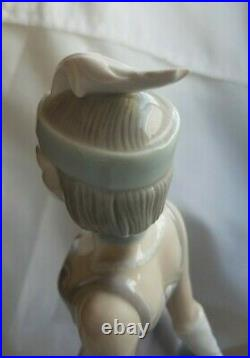 Lladro #5174 Couplet Lady Bnib Dog 1920's Flapper Retired J10e