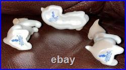 Lladro 5311 Miniature Puppies RETIRED! Mint condition! No Box! L@@K! Rare