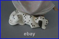 Lladro 5466 Chit Chat Dalmation Dog Phone Call Gres Figure VGC
