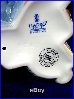Lladro #6245 Destination Big Top Bnib Clown Circus Dog Rare $225 Off Free Ship