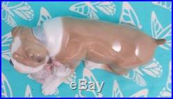 Lladro # 6417 UNLIKELY FRIENDS Cat & Dog MIB