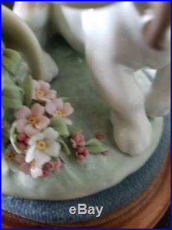 Lladro 7672 It Wasn't Me Dog Collectors Society 1998 Retired with Base & Box