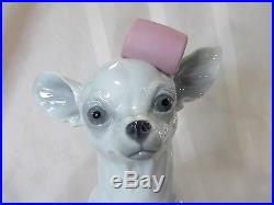 Lladro #9191 Chihuahua With Marshmallows Brand New In Box Cute Dog Save$$ F/sh