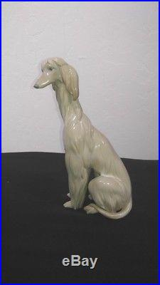 Lladro AFGHAN DOG 1069. Large Figurine. Perfect Condition. GREAT GIFT