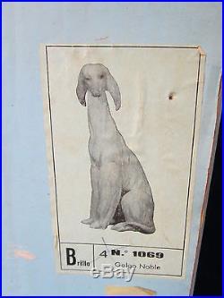 Lladro Afghan #1069 Bnib Cute Brown Dog Rare Retired 11.50 Large Bargain F/sh