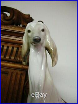 Lladro Afghan Hound Dog
