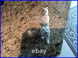 Lladro Afghan Hound Dog #1282 Retired 1985