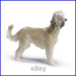 Lladro Afghan Hound Dog Figurine 01009143